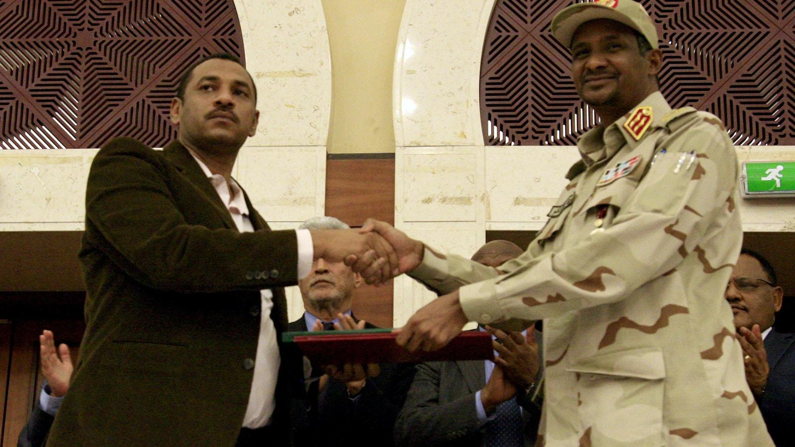 Signature de l'accord politique au Soudan: En attendant le verdict du terrain