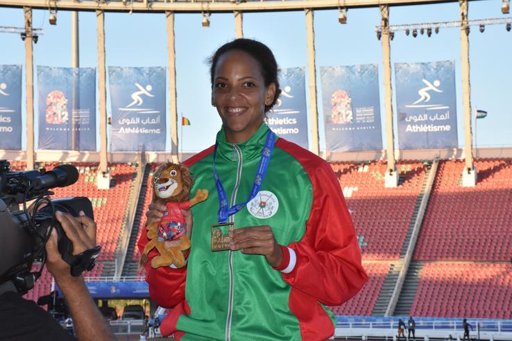Jeux africains Maroc 2019: Hugue Zango et Laeticia Bambara font tonner le Ditanye!