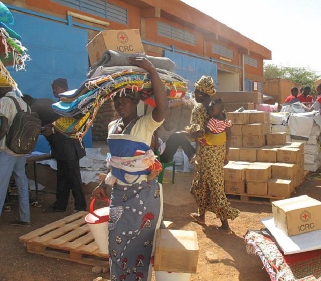 Lancement «FAISONS UN GESTE»: Pour de l'humanitaire au profit des déplacés