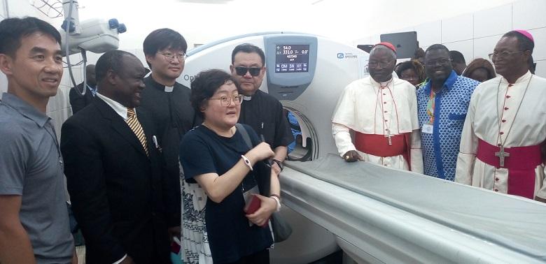 Santé: l'Hôpital Paul VI doté d'un scanner de 64 barrettes par l'Archidiocèse de Séoul
