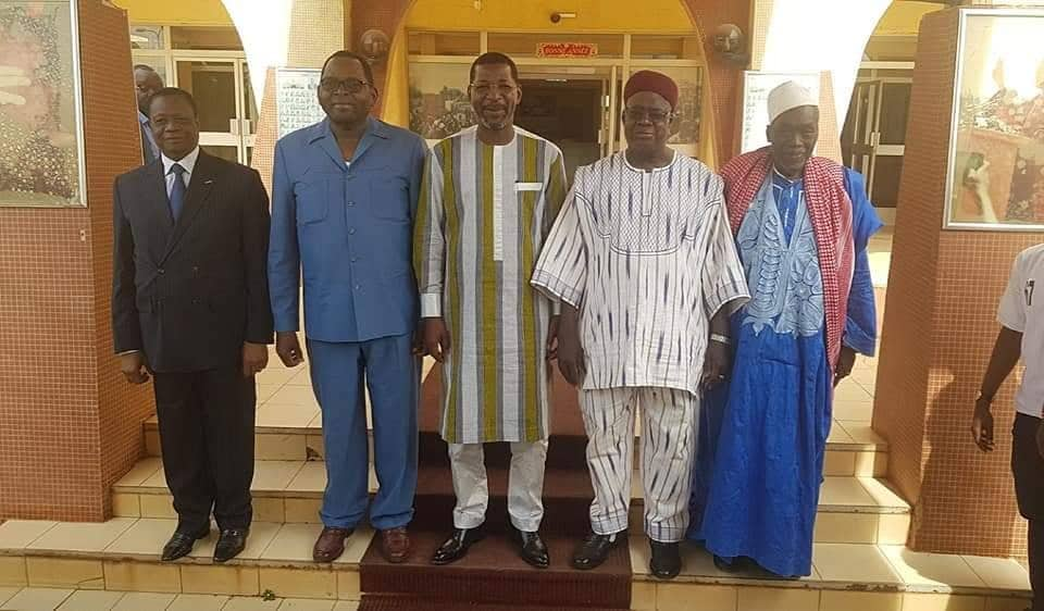 Assemblée nationale: Des anciens présidents chez Alassane Bala Sakandé