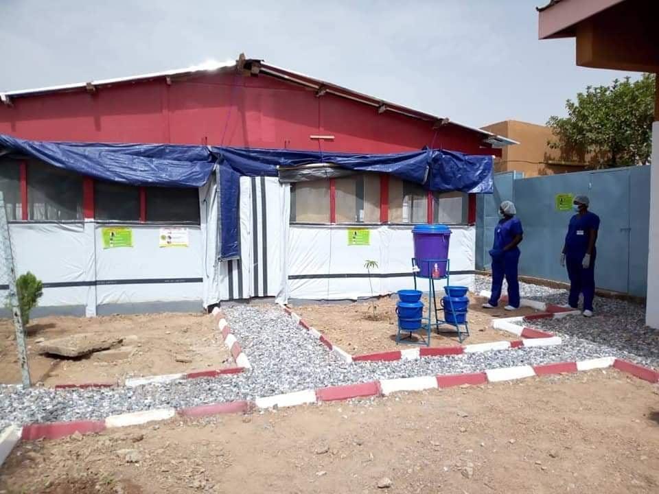 Prise en charge du Covid-19: Médecins sans frontières rénove le centre de traitement des épidémies de Pissy
