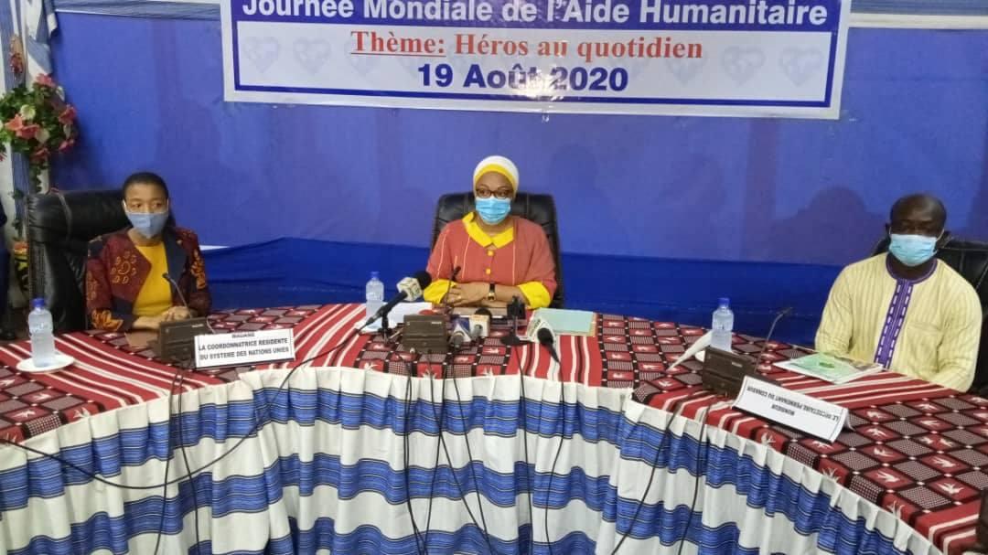 Aide humanitaire: Le Burkina lance son plan révisé 2020