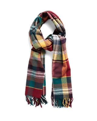 Cant Women check scarf