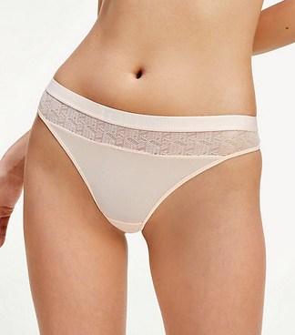 Tommy Hilfiger Lace panel thong