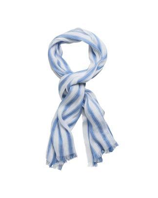 Gant linen striped scarf