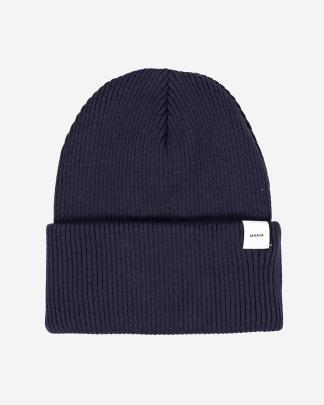 Makia basic beanie navy