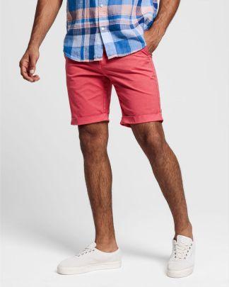 Gant Sunfaded Shorts Red