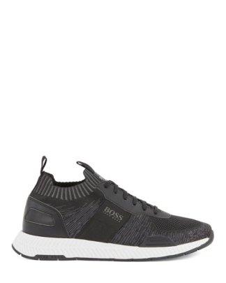 Hugo Boss Titanium Run Shoes Black