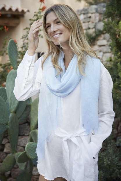Balmuir Alessia Scarf Blue