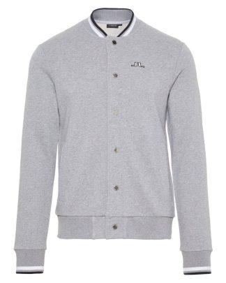 J.Lindeberg Jasper Sweater Jacket Grey