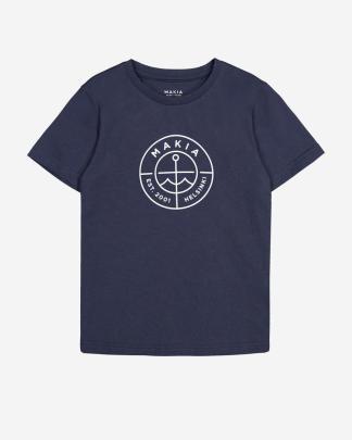 Makia Kids Scope T-shirt Navy