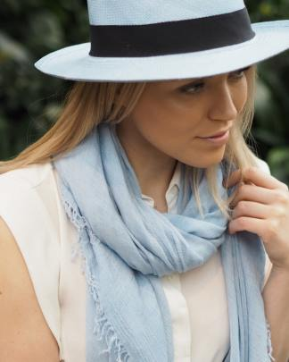 Balmuir Marseille Scarf Baby Blue
