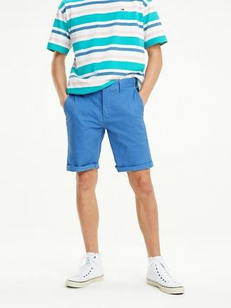 Tommy Jeans Chino Shorts Federal Blue