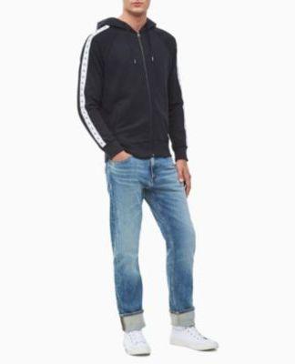 Calvin Klein Monogram tape hoodie