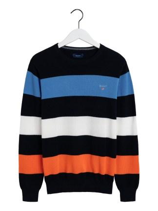 Gant multistripe pique knit
