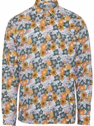 Knowledge Cotton Apparel Larch Flower shirt