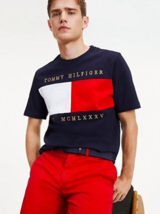 Tommy Hilfige Flag chest t-shirt