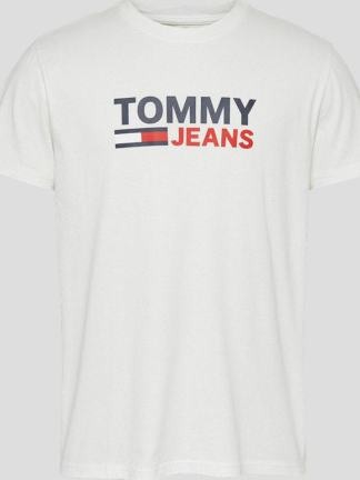 Tommy Jeans organic cotton logo t-shirt