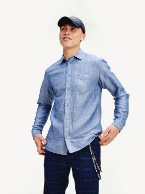 Tommy Jeans linen blend shirt
