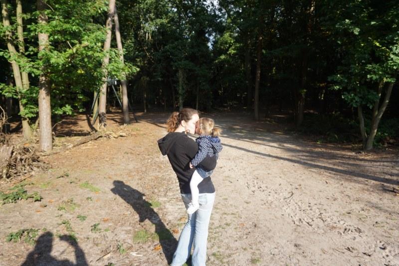 naar het bos