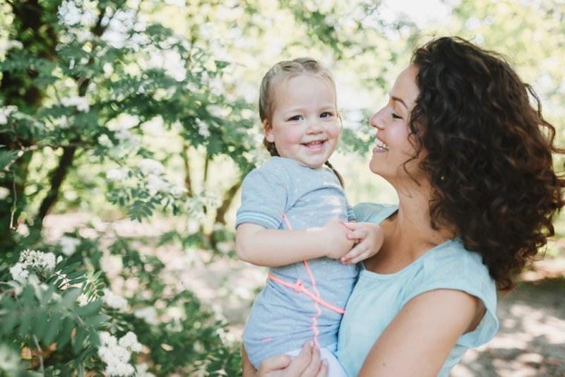 moeder dochter fotoshoot