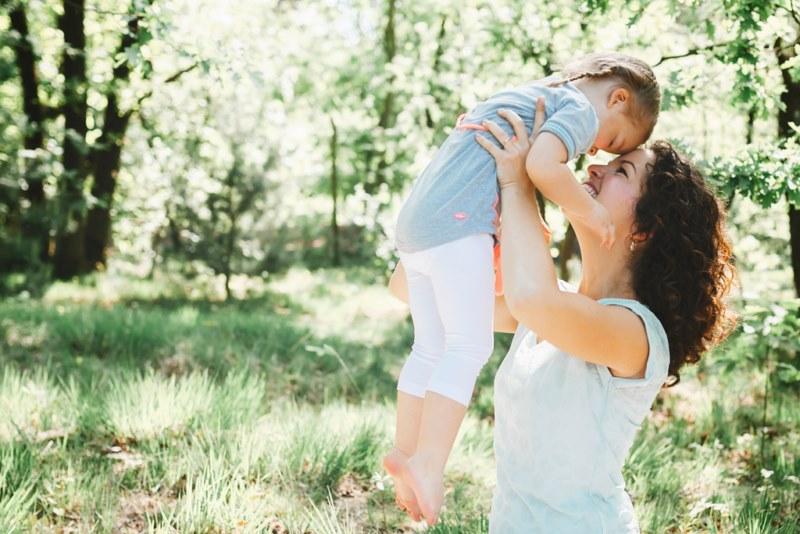 moeder-dochter fotoshoot