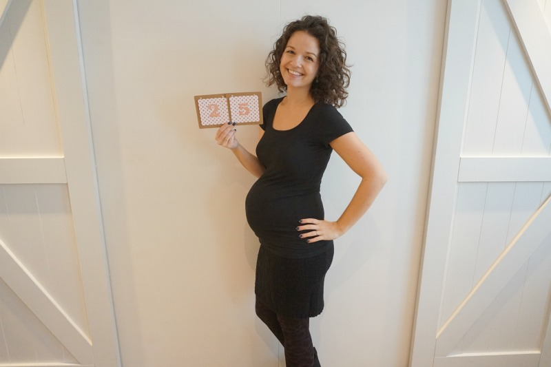 25 weken zwanger