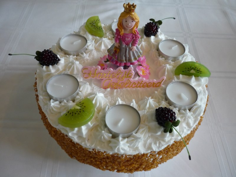 diy nep taart