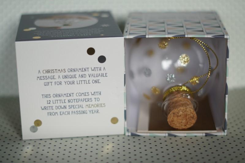 milestone keepsake ornament