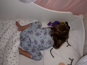 slapende kleuter