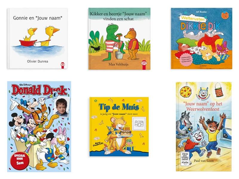 kinderboek met naam