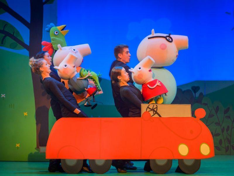 peppa pig voorstelling