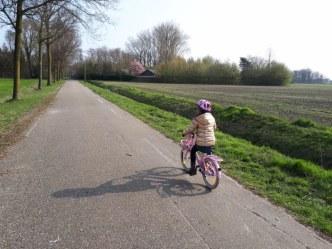 fietsen zonder zijwieltjes