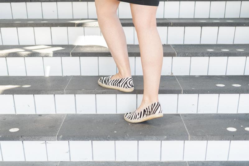 zebraprint schoenen