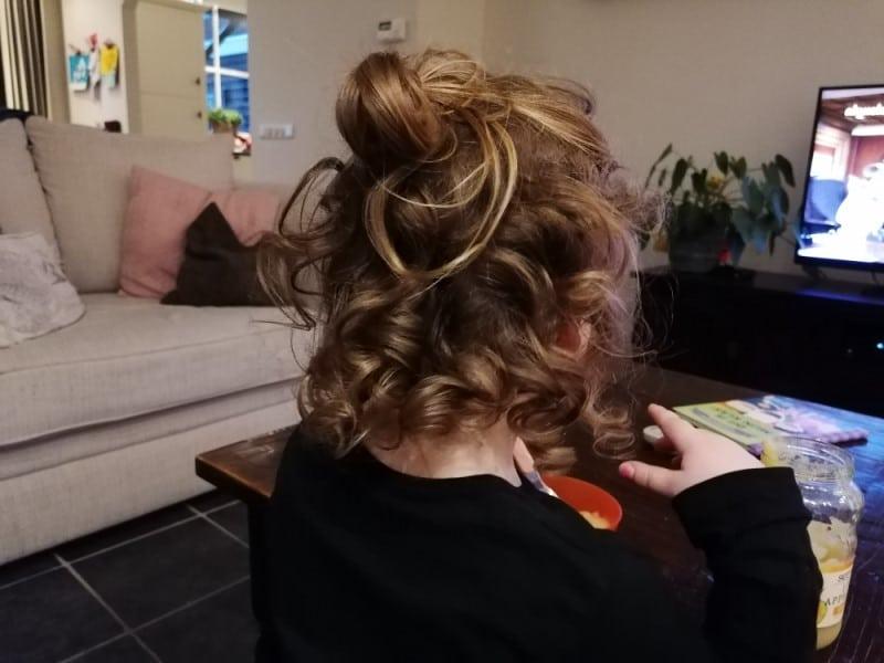 curly girl methode kind