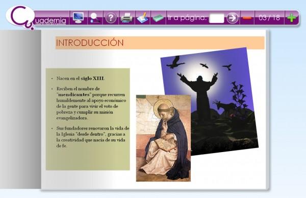 """Cuaderno Digital: """"Las Órdenes Mendicantes"""""""