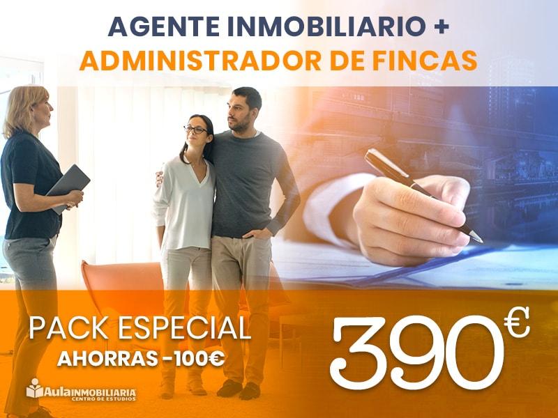 Pack Agente Inmobiliario + Administrador de Fincas