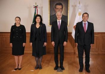 Toma protesta Alfredo del Mazo a nuevos Secretarios del Trabajo, Turismo y Desarrollo Agropecuario 2