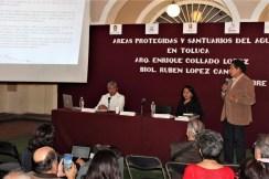 """Charlan sobre biodiversidad y creación del universo en el ciclo de conferencias """"Historias de Toluca"""" 3"""