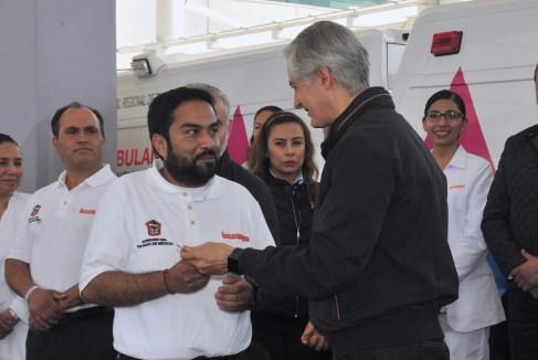 Entrega Alfredo del Mazo nuevas ambulancias al ISSEMYM para brindar mejores servicios de salud a sus derechohabientes 3