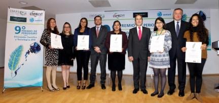 Entrega COMECYT noveno premio de periodismo sobre ciencia 2