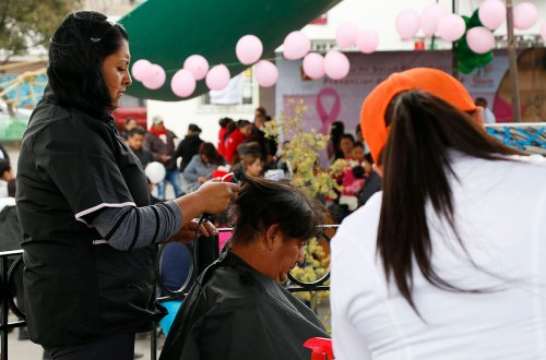 Cuida Toluca a las mujeres con jornadas de salud, mastografías y pláticas
