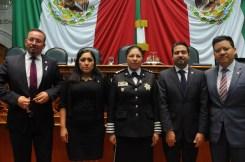 Incremento salarial, creación de la carrera universitaria y la policía de proximidad, logros de la administración del gobernador Alfredo del Mazo