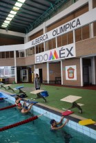 Reinicia actividades Alberca Olímpica de Zinacantepec