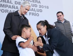 Aplicarán 4.2 millones de vacunas en EDOMÉX como parte de las acciones de prevención: Alfredo del Mazo