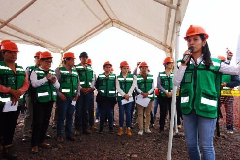 Recorren Diputados locales y Secretario de Desarrollo Urbano y Metropolitano instalaciones del NAIM
