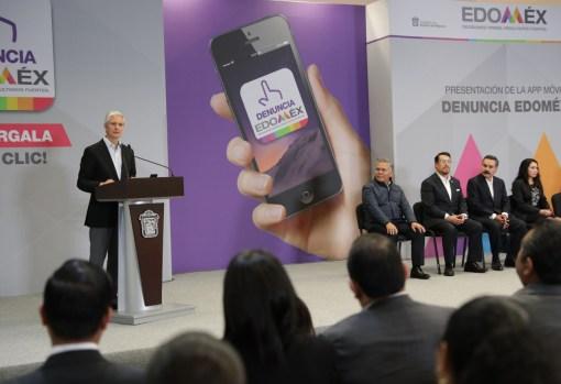"""Aplicación móvil """"Denuncia Edoméx"""" permitirá fortalecer la transparencia y combatir la corrupción en la entidad Alfredo del Mazo 10"""