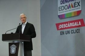 """Aplicación móvil """"Denuncia Edoméx"""" permitirá fortalecer la transparencia y combatir la corrupción en la entidad Alfredo del Mazo 7"""