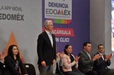 """Aplicación móvil """"Denuncia Edoméx"""" permitirá fortalecer la transparencia y combatir la corrupción en la entidad Alfredo del Mazo 9"""